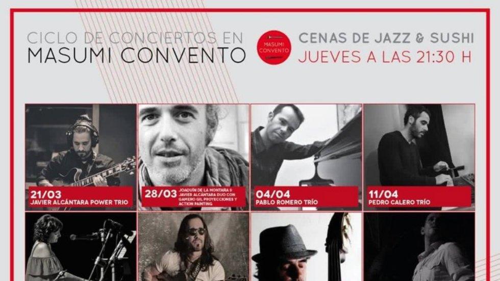 Ciclo de conciertos \'Shushi Jazz\'