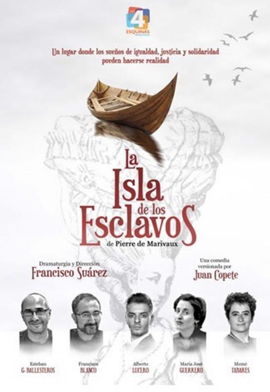 LA ISLA DE LOS ESCLAVOS, de Pierre de Marivaux