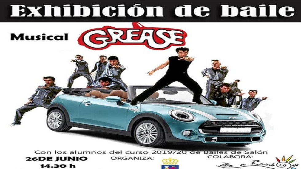'Grease' - Exhibición Baile Be a Rainbow