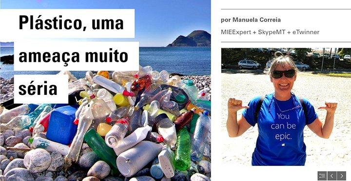 Litter@sea - Plástico, uma ameaça muito séria