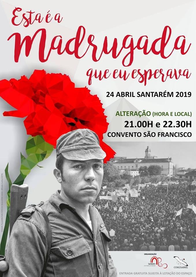 """Reconstituição encenada: """"Esta é a madrugada que eu esperava' - 21h e 22h30 Convento de São Francisco"""
