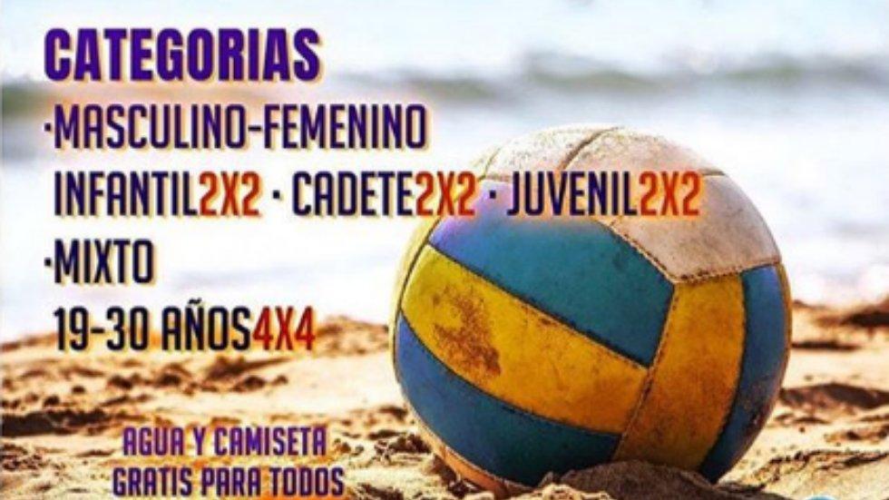 'II Open Voley Playa. Ciudad de Badajoz'