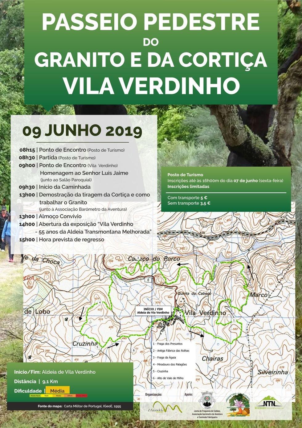 Passeio Pedestre: Vila Verdinho