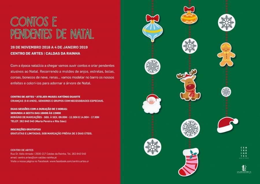 Contos e Pendentes de Natal