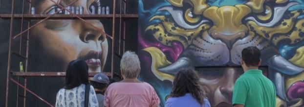Primer Safari de Arte Urbano - Costa Rica en la Pared