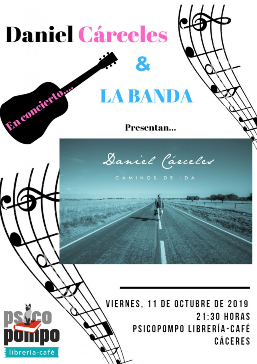 Concierto de Daniel Cárceles & La Banda