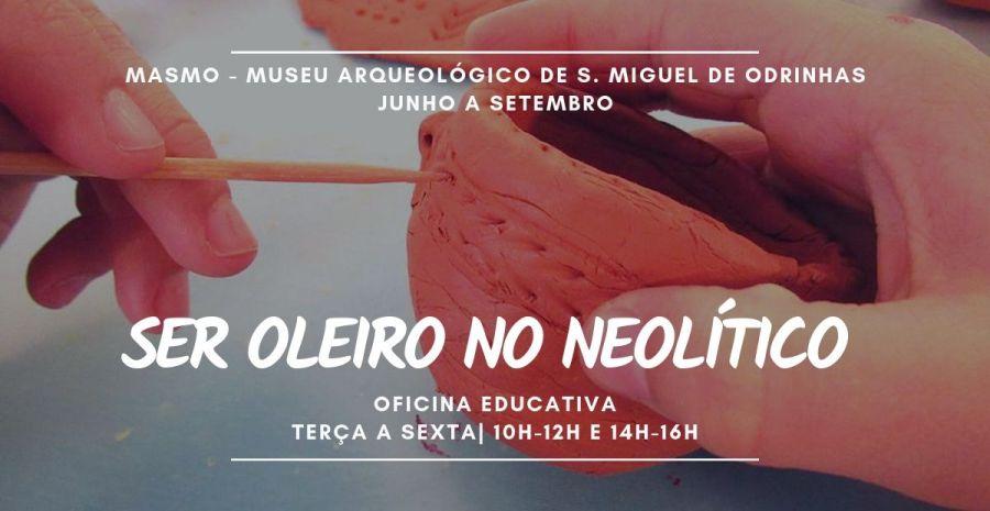 Oficina Educativa | Ser Oleiro No Neolítico
