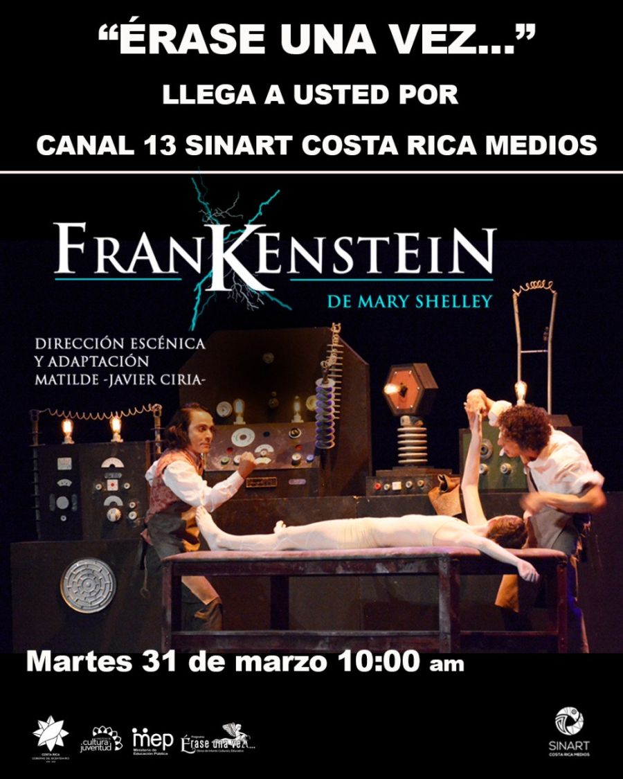 Frankenstein. Mary Shelley. #Transmisión