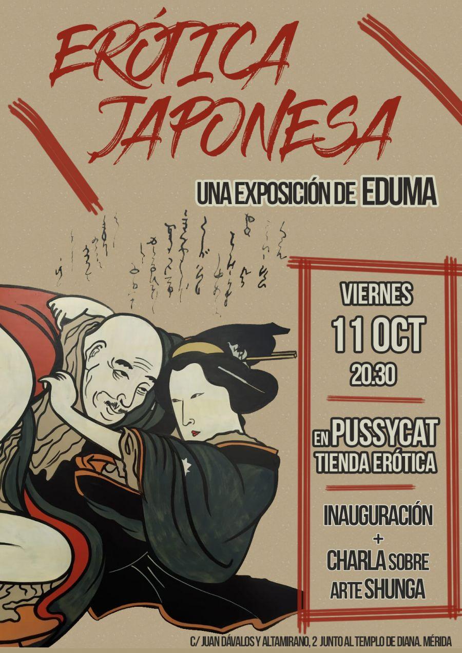 Erótica Japonesa, Una exposición de arte shunga de EDUMA
