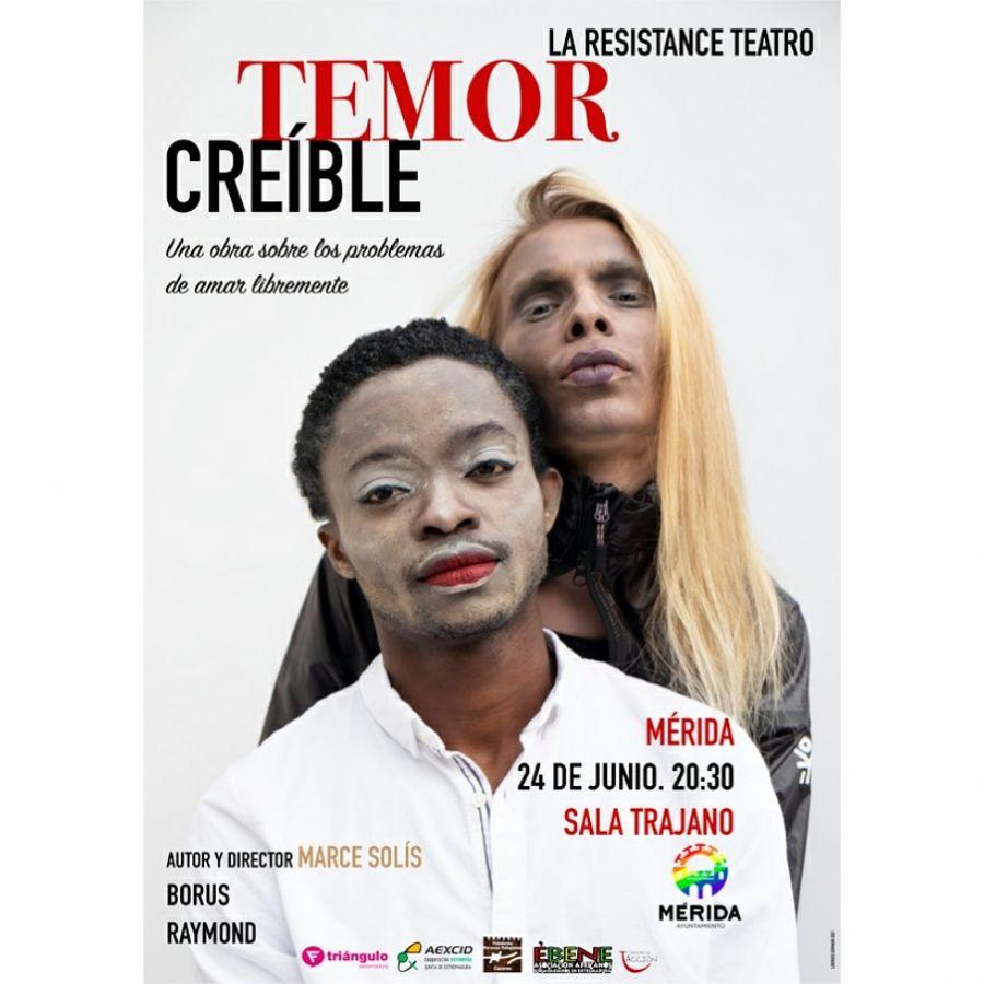'Temor creíble' La Resistance Teatro en Mérida