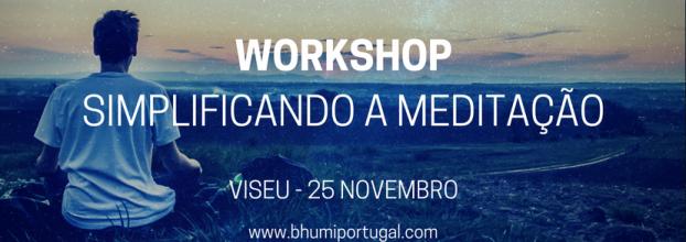 Workshop Simplificando a Meditação