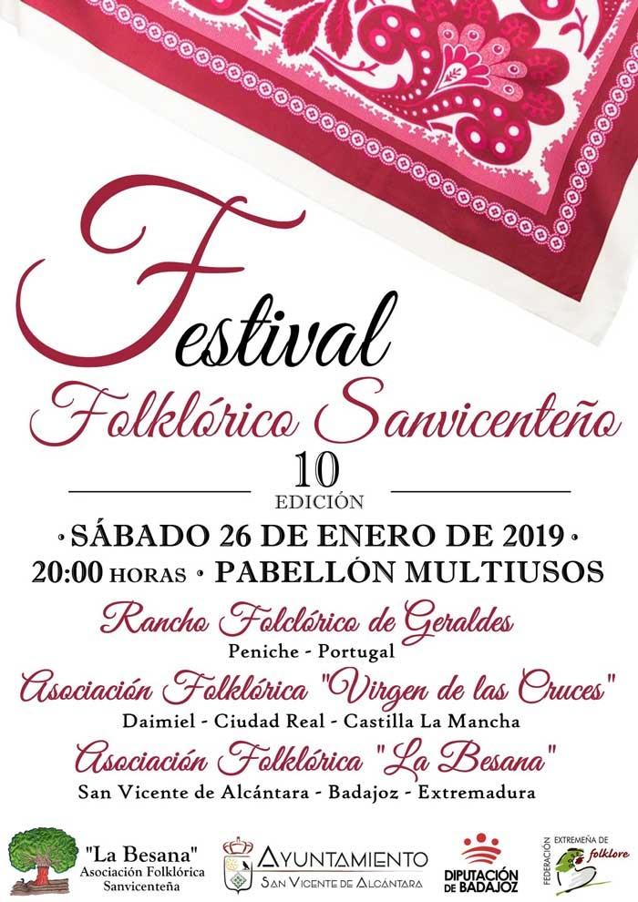X FESTIVAL FOLKLÓRICO SANVICENTEÑO
