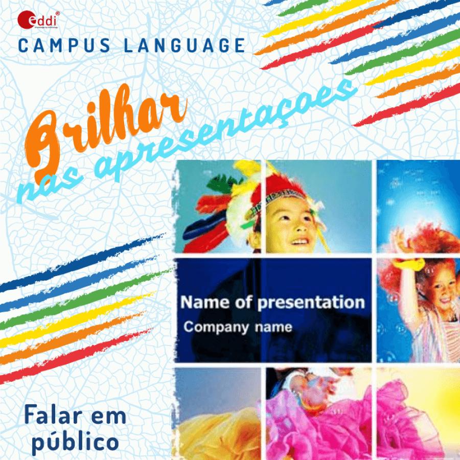 Language Camp  - Apresentações com brilho