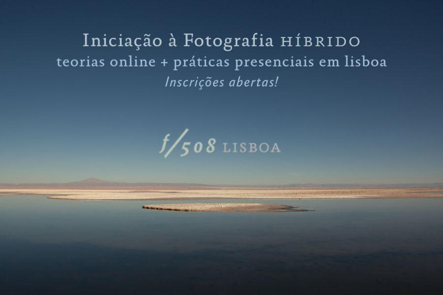 Curso Iniciação à Fotografia híbrido (teorias online + práticas presenciais)
