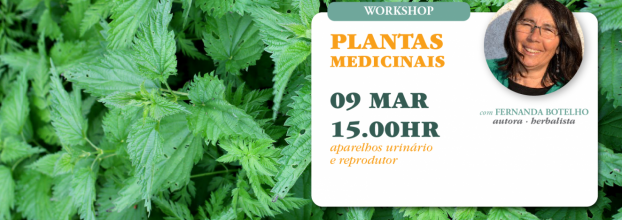 Workshop Plantas Medicinais