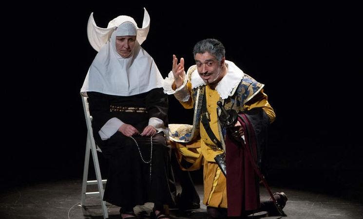 Gala de clausura del Certamen Nacional de Teatro Amateur 'La Barraca de Lorca'. CEREZO EN FLOR