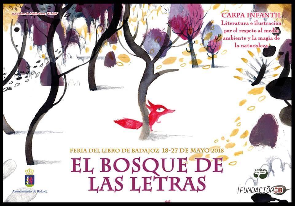EL BOSQUE DE LAS LETRAS || Feria del libro de Badajoz
