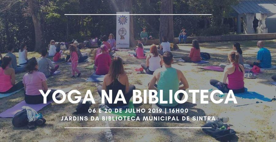 Yoga na Biblioteca Municipal de Sintra