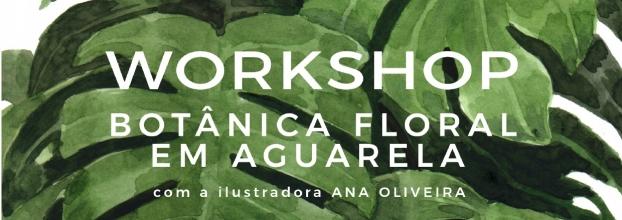Workshop Botânica Floral em Aguarela