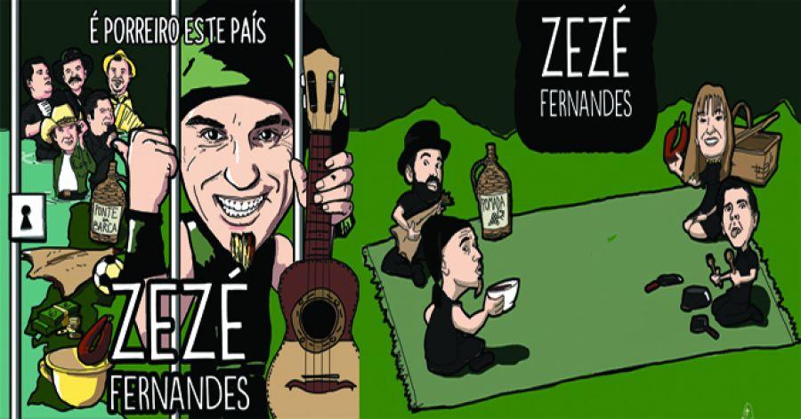 Zezé Fernandes apresenta o novo cd 'É porreiro este país'