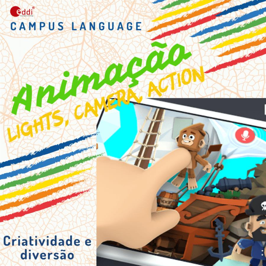 Language Camp  - Animação - Toontastic