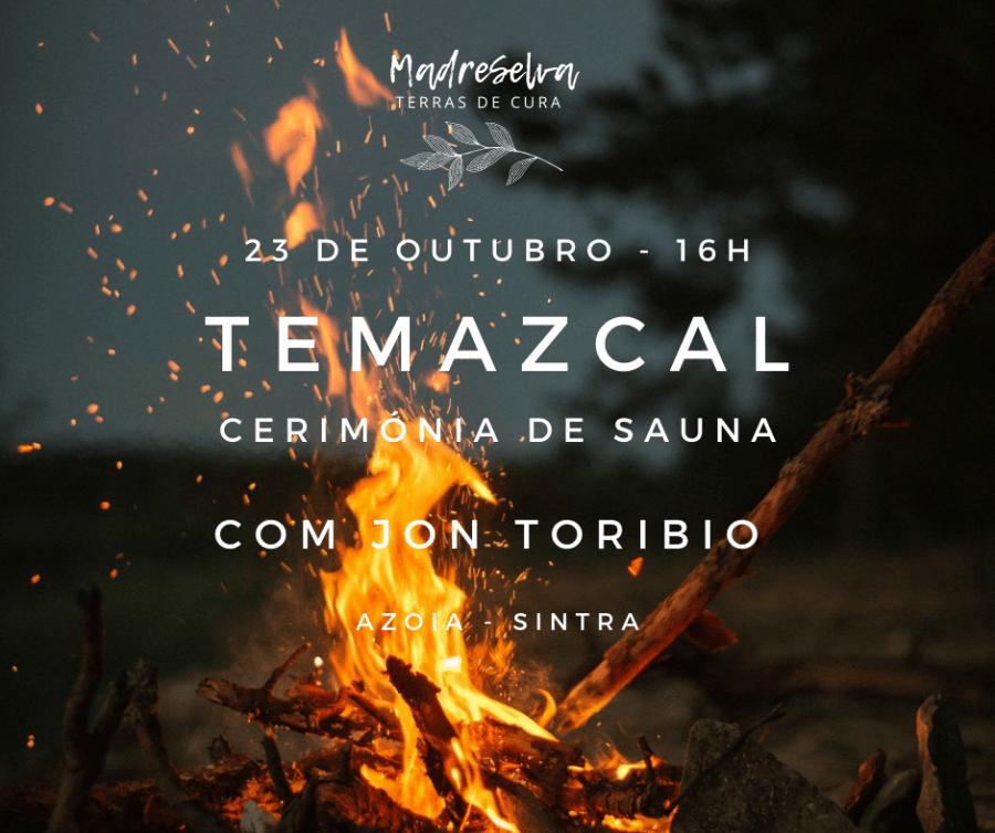 Cerimónia de Temazcal em Sintra
