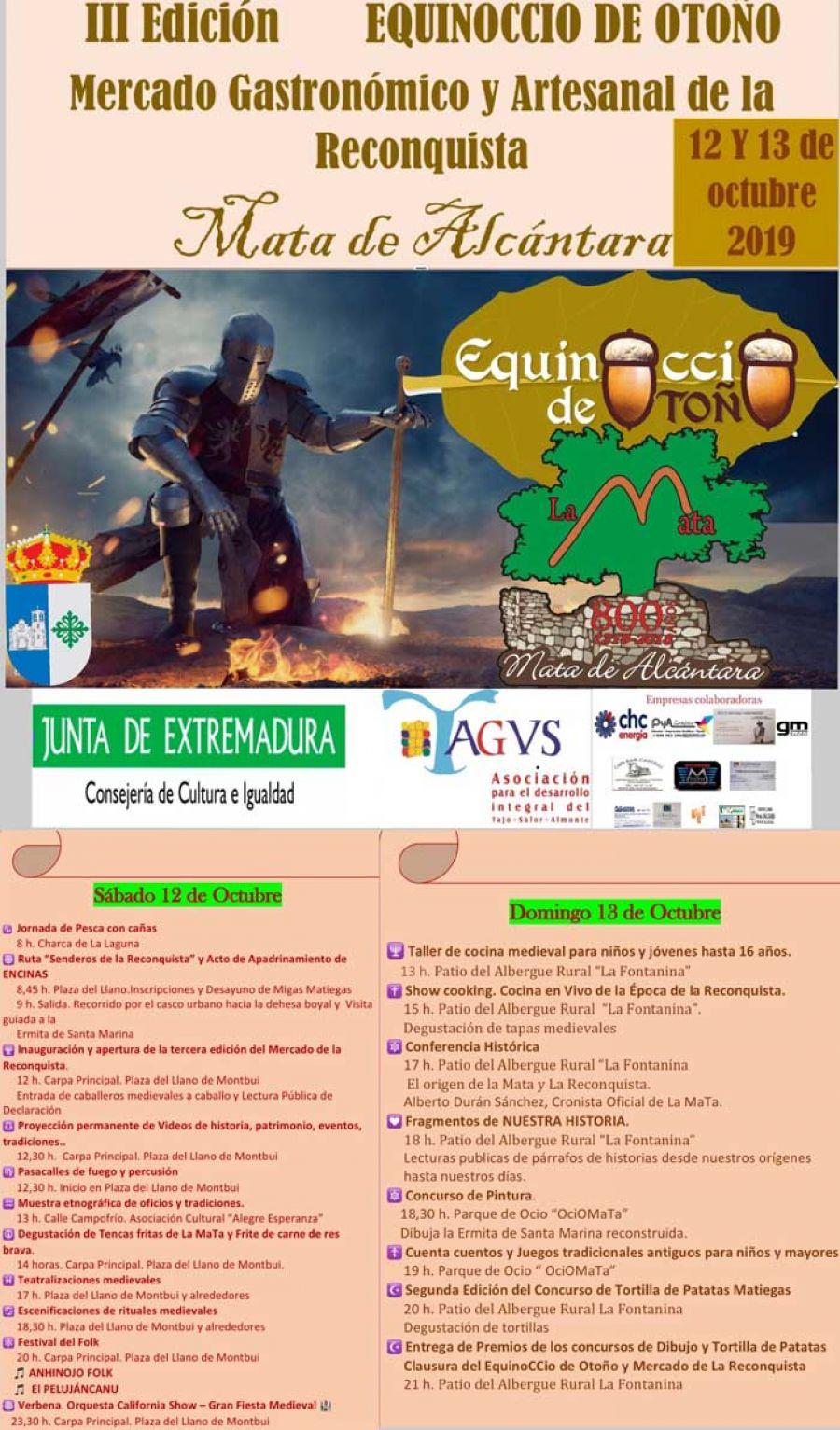 Festividad del Equinoccio y el Mercado Gastronómico y Artesanal de la Reconquista 2019 | DOMINGO
