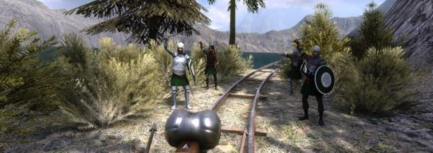 Feira Medieval com Realidade Virtual!