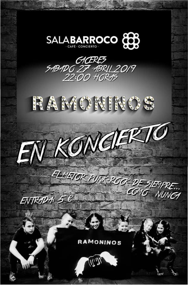 RAMONINOS en concierto // Sala Barroco