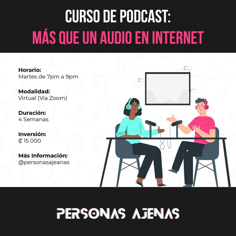 Curso Podcast. Más que un Audio en Internet