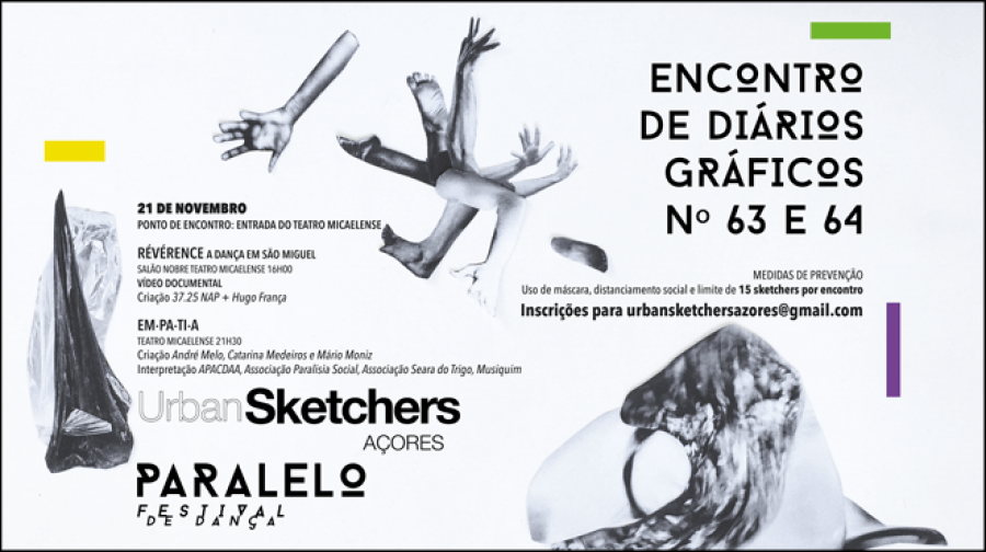 63º e 64º Encontro de diários Gráfico | Festival de dança O PARALELO