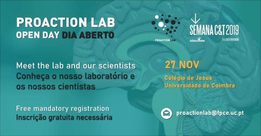 Proaction Lab Open Day | Dia Aberto