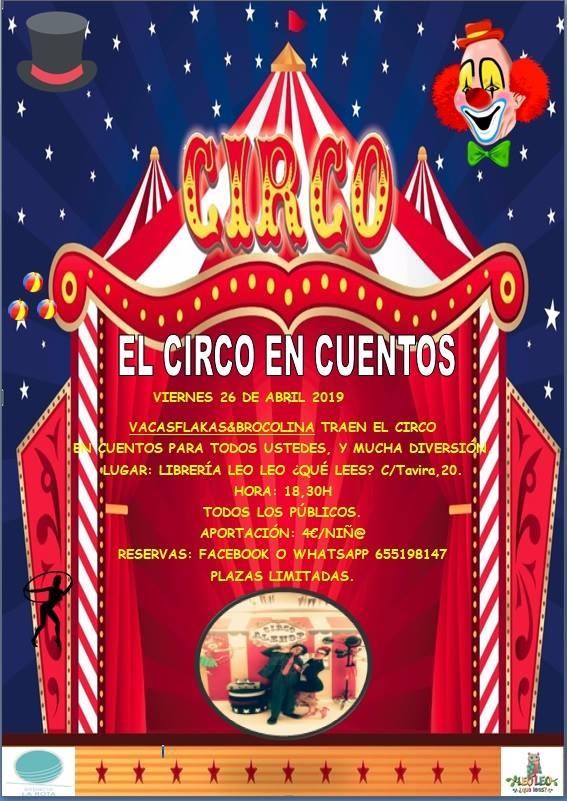 El circo en cuentos // VACASFLAKAS & BROCOLINA