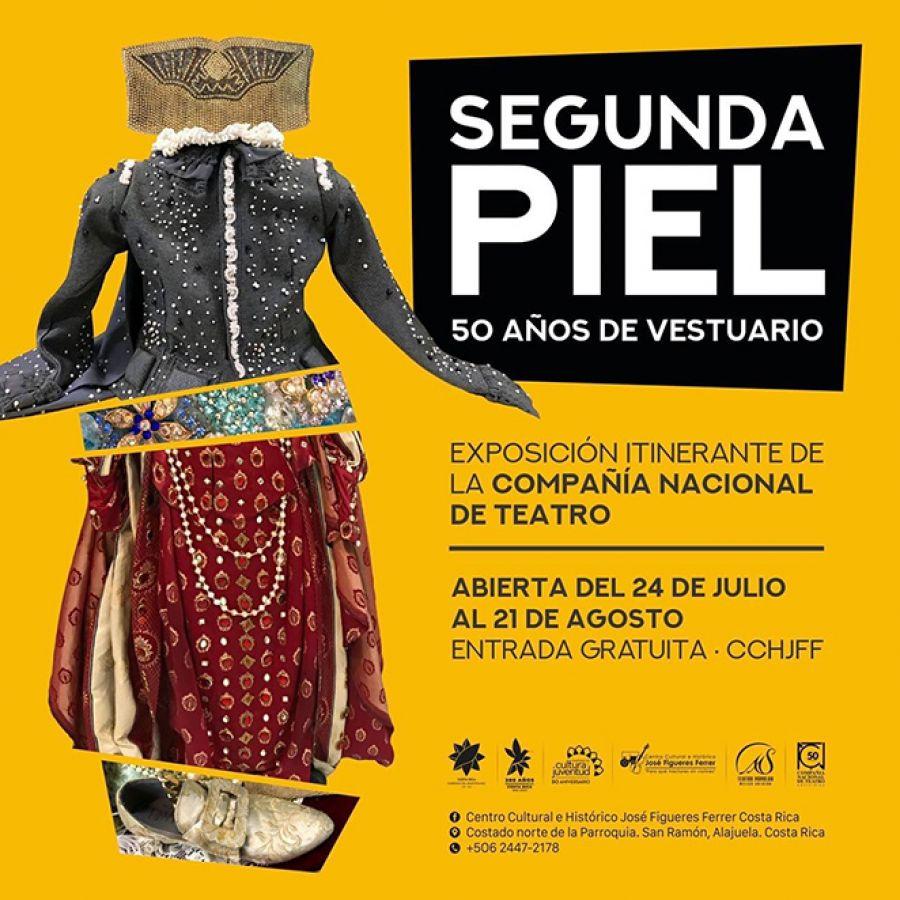 Segunda piel: 50 años de vestuario y diseño en la Compañía Nacional de Teatro