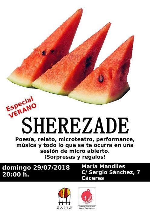 Sherezade // Micro abierto