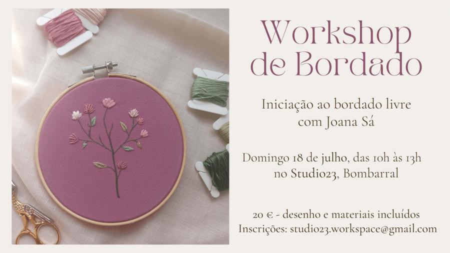 Workshop de Bordado