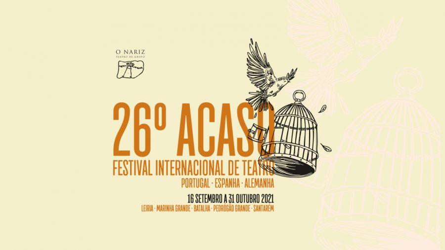 26º ACASO - Festival Internacional de Teatro