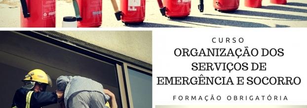 Curso Organização dos Serviços de Emergência e Socorro