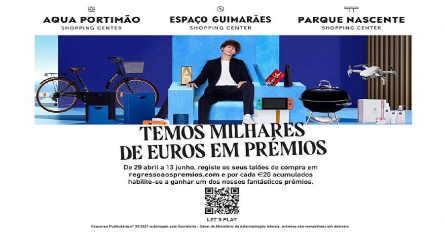 OS CENTROS COMERCIAIS DA KLÉPIERRE LANÇAM MEGA PASSATEMPO COM PRÉMIOS EXCLUSIVOS