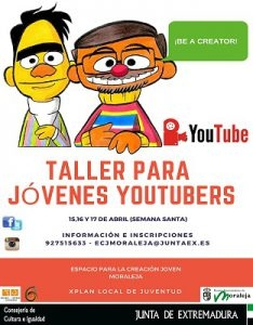 Taller para jóvenes Youtubers | MARTES
