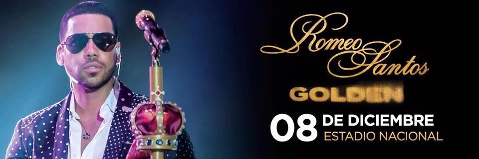 Golden Tour. Romeo Santos. Cantante