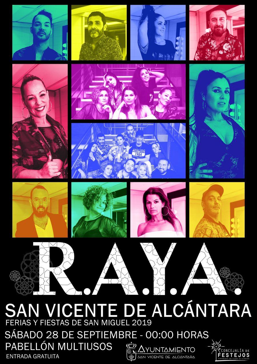 R.A.Y.A. EN CONCIERTO