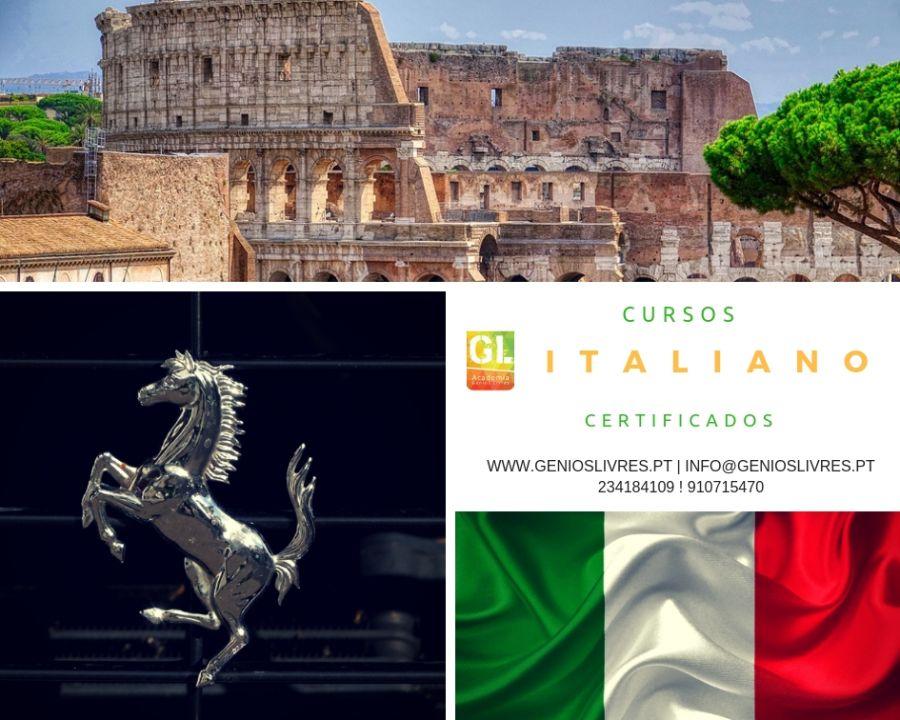 Curso de Nível de Italiano  A1 (Iniciação)