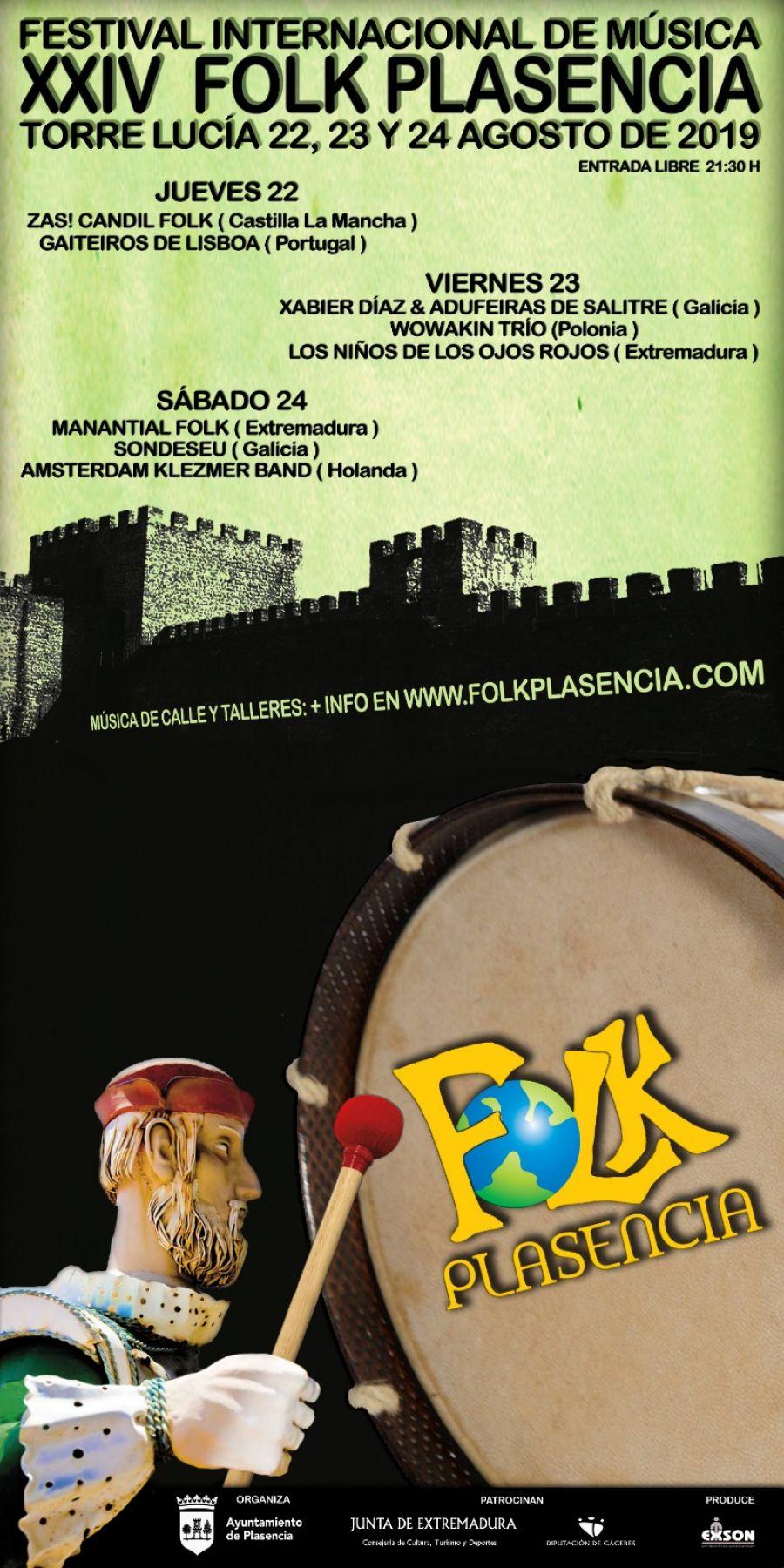 XXIV FESTIVAL FOLK PLASENCIA