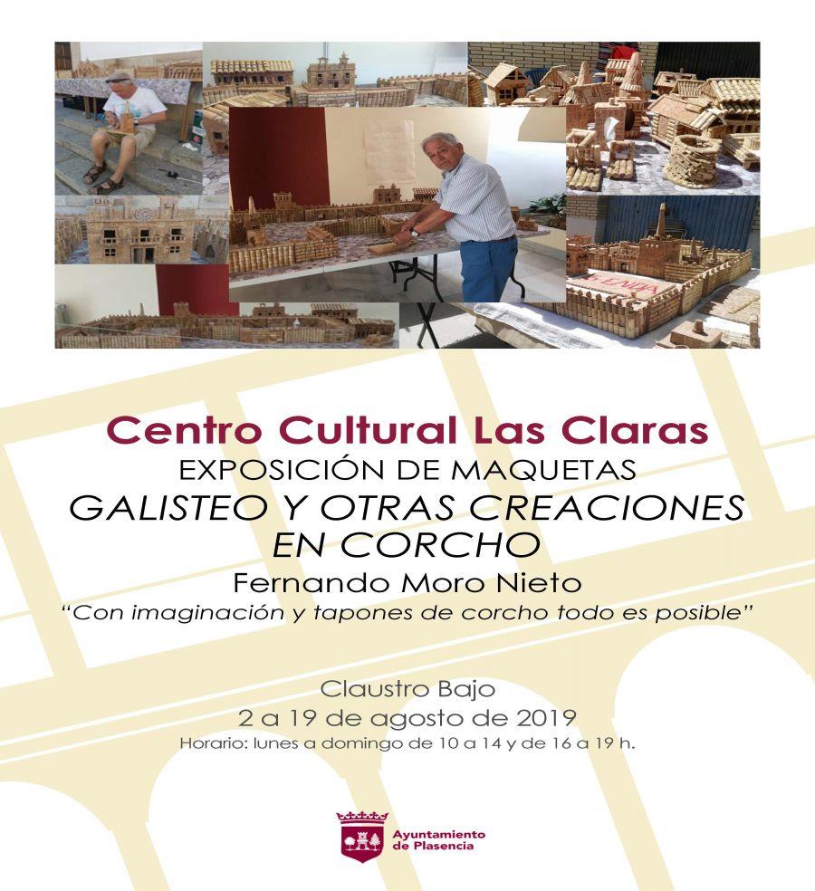 Exposición: 'Galisteo y otras creaciones en corcho'