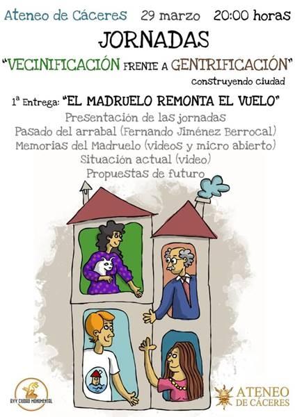 Jornadas 'VECINIFICACION frente GENTRIFICACION'