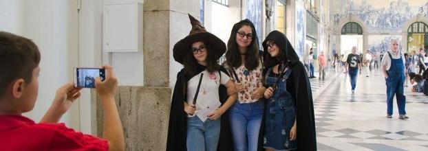 Carnaval mágico com Harry Potter no Porto!