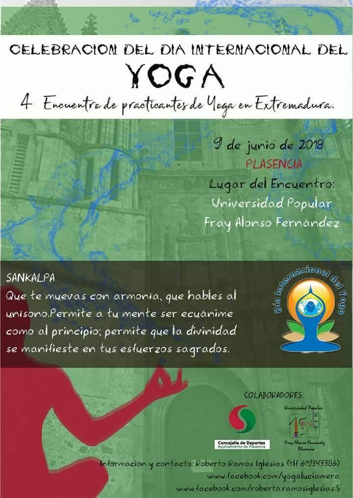 Día Internacional del Yoga    Plasencia