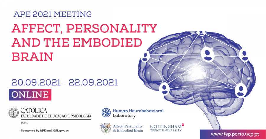 APE 2021 Meeting - Affect, Personality and the Embodied Brain