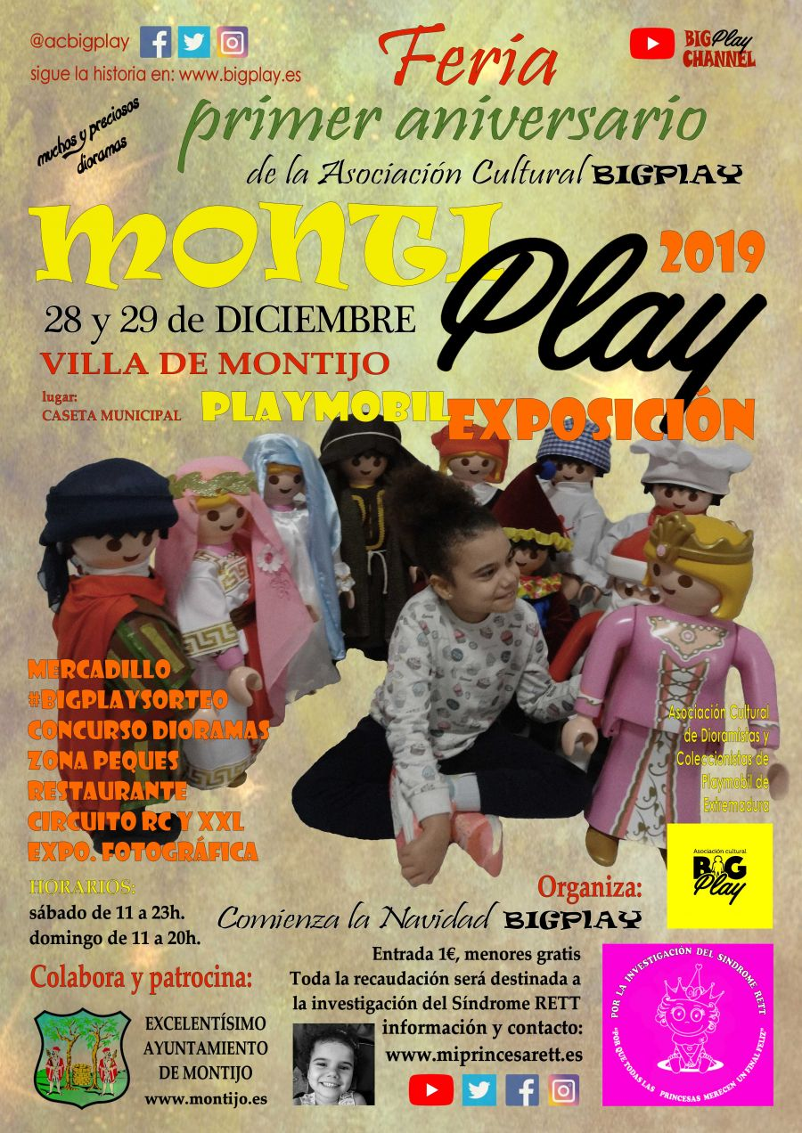 MONTIPlay 2019, Feria Primer Aniversario BIGPlay en MONTIJO
